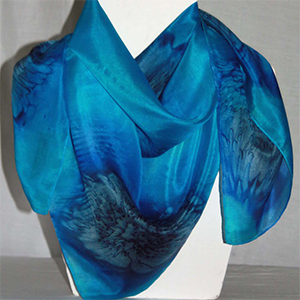 Large Square Silk Scarves