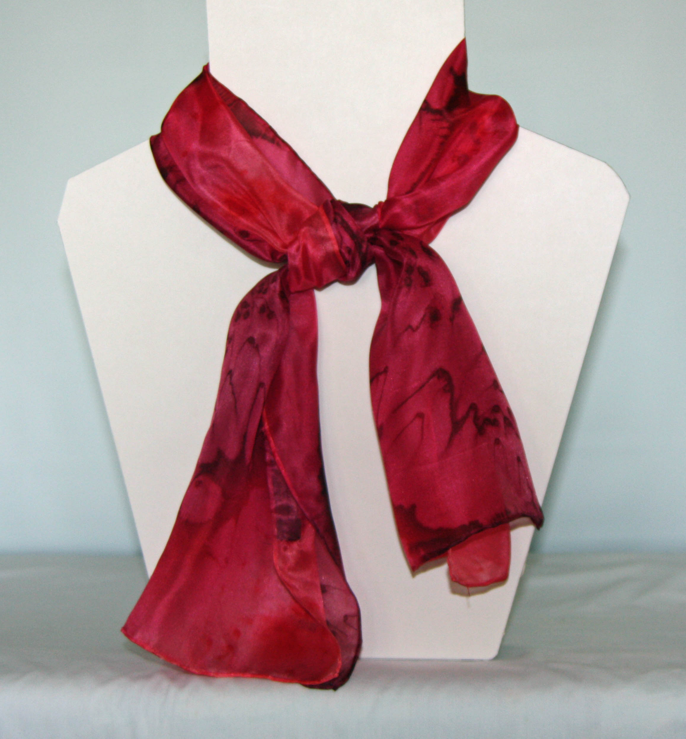 Small Long Silk Scarves £25.00